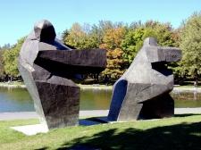 Taichi Sculpture, Ju Ming Museum